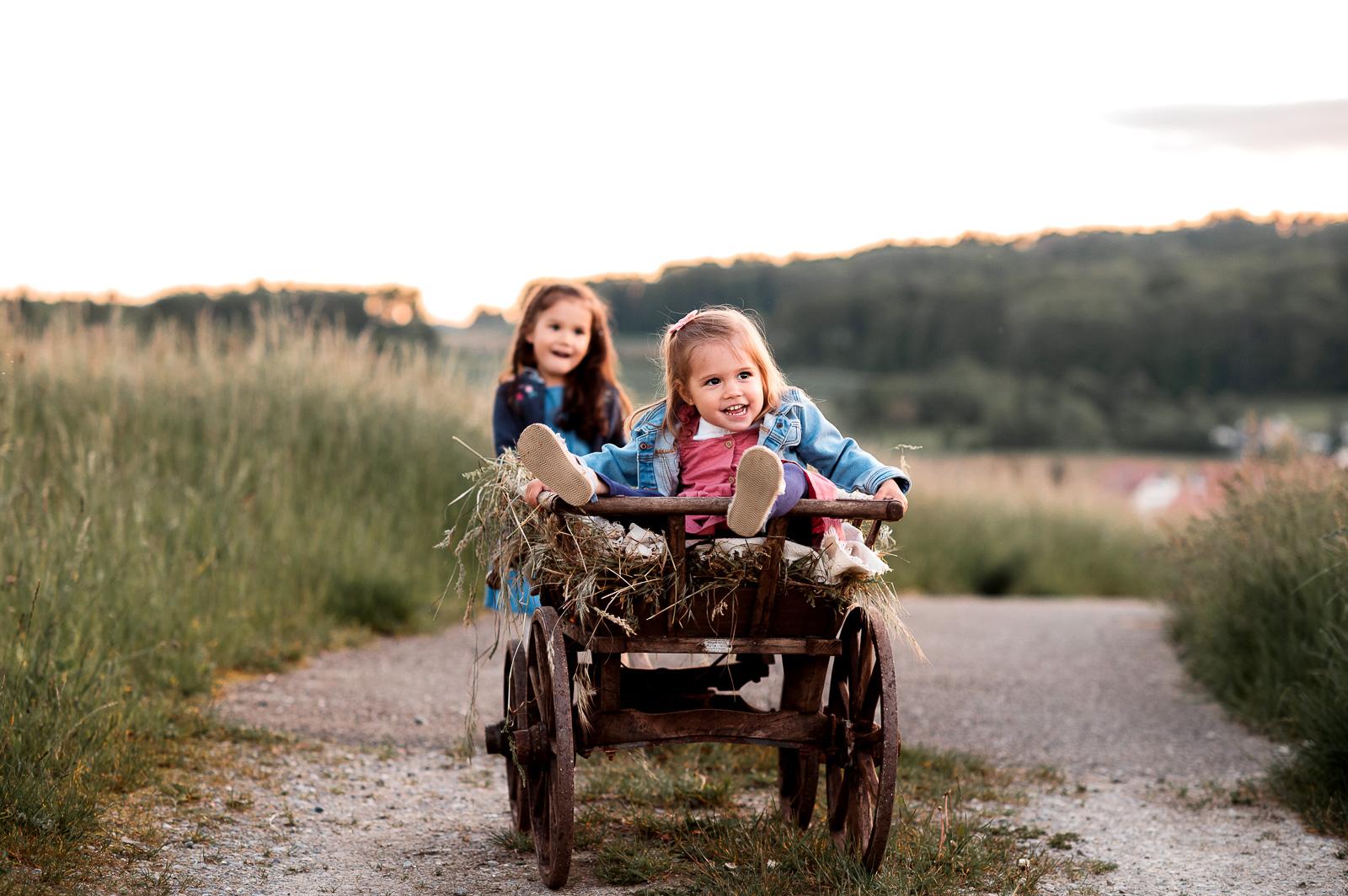 golden hour as it's best – Familienshooting